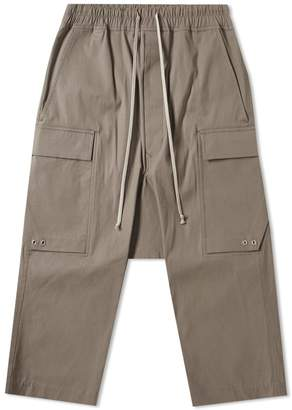 Rick Owens Drawstring Cropped Cargo Pant