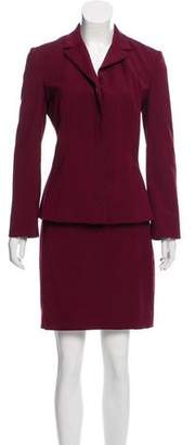 Dolce & Gabbana Notched-Lapel Skirt Suit