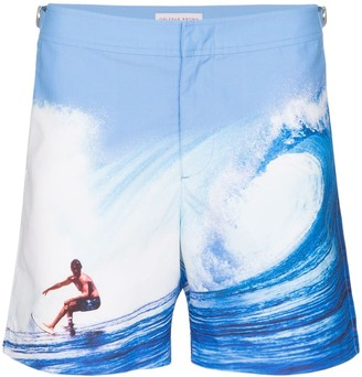 Catching the Wave swim shorts