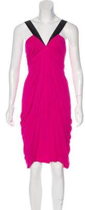 Yigal Azrouel Ruched Knee-Length Dress