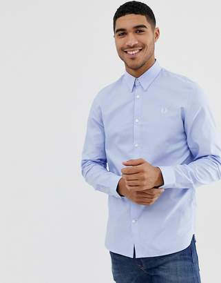 Fred Perry oxford shirt in light blue