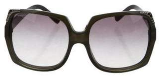Burberry Nova Check Oversize Sunglasses