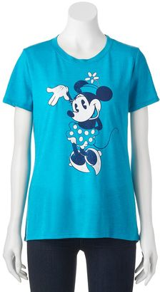 Disney's Minnie Mouse Juniors' Cute Pose Graphic Tee $20 thestylecure.com