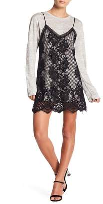 KENDALL + KYLIE Kendall & Kylie Lace Sweater Dress