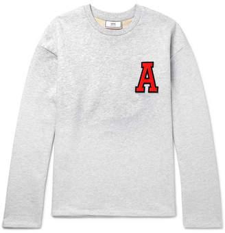 Appliquéd Loopback Cotton-Jersey Sweatshirt