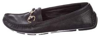 Gucci LeatherHorsebit Loafers
