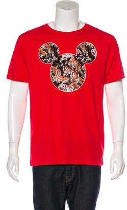 Marcelo Burlon County of Milan Mickey Mouse Tiger T-Shirt w/ Tags