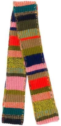 Missoni striped pattern scarf
