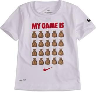 Nike Little Boy's My Game is Money Dri-Fit Tee