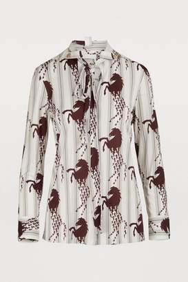 Chloé Horse print shirt