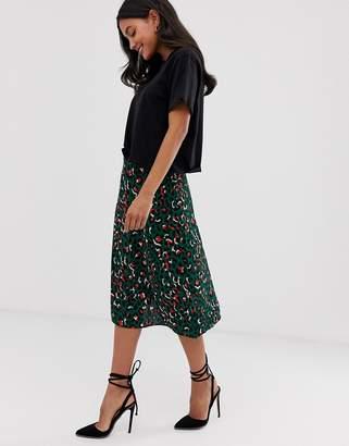 95c194319a9f Leopard Print A-line Skirt - ShopStyle UK