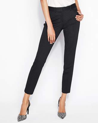 Express Mid Rise Pin Dot Skinny Pant
