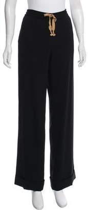 Rene Lezard Mid-Rise Crepe Pants