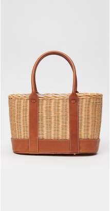 J.Mclaughlin Picnic Gables Wicker Bag