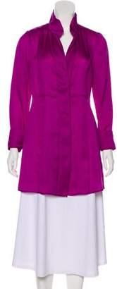 Donna Karan Silk Long Sleeve Tunics