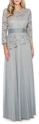 Decode 1.8 Studded Lace Gown