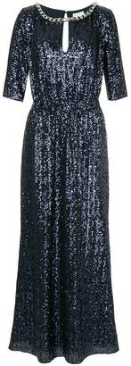 Ingie Paris sequin embellished gown