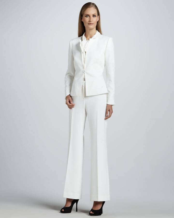 Albert Nipon Pant Suit with Scarf