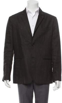 John Varvatos Deconstructed Linen-Blend Jacket