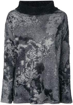 Avant Toi stained effect jumper