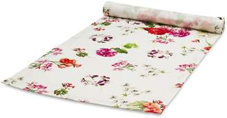 Sur La Table Red & Pink Floral Table Runner