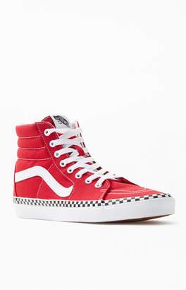 Vans Women's Red Sk8-Hi Sneakers