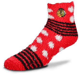 For Bare Feet Chicago Blackhawks Homegater Sleep Soft Socks