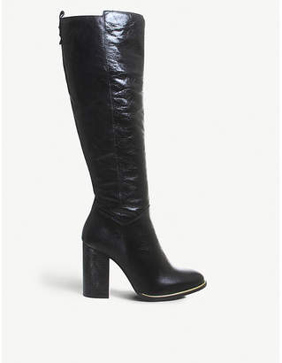 Office Kirby knee-high leather boots