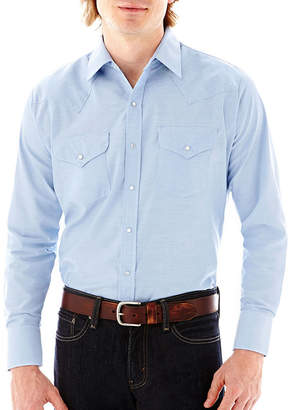 JCPenney Ely Cattleman Long-Sleeve Western Shirt