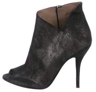 Calvin Klein Collection Suede Ankle Boots