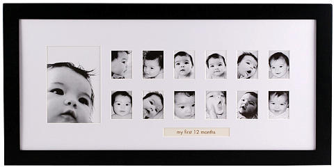 Pearhead Photo Moments Frame - Black