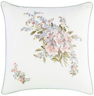 Laura Ashley Harper Green Square Pillow Bedding