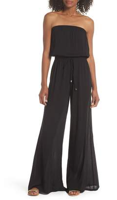 a679e1f9be42 Elan International Strapless Cover-Up Jumpsuit