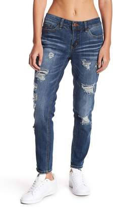 Marni SUPPLIES BY UNION BAY Distressed Skinny Ankle Jeans (Petite)