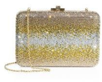 Judith Leiber Slim Ombre Crystal Box Bag $2,995 thestylecure.com
