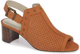 David Tate Pompei Block Heel Sandal