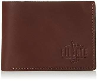 Filgate Mens Wallet Leather Bifold Wallet with Card Slots