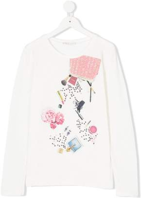 Liu Jo Kids printed long sleeved T-shirt