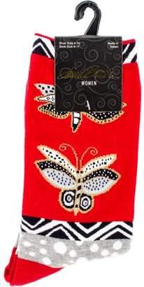 Laurèl Burch Socks - Butterfly