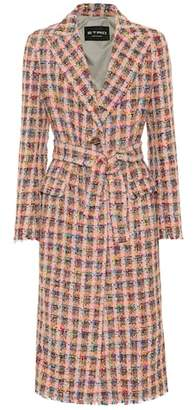Etro Wool-blend tweed coat