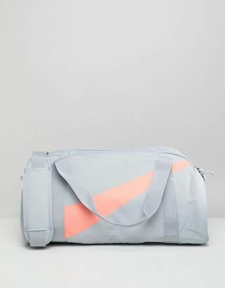 Nike Gym Bag In Grey And Pink