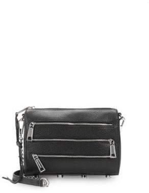 Rebecca Minkoff Zip Leather Mini Crossbody Bag