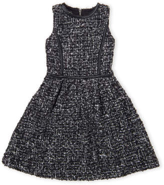 Blush by Us Angels Girls 7-16) Boucle Fit & Flare Dress