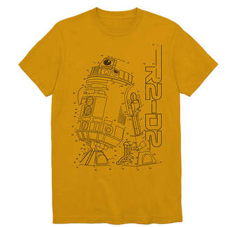 Star Wars Novelty T-Shirts R2D2 Graphic Tee