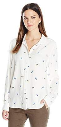 G.H. Bass & Co. Women's Watercolor Birds