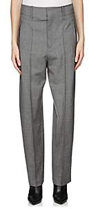 Isabel Marant Women's Hami Herringbone Wool Trousers - Gray