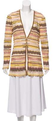 Missoni Knit Patterned Cardigan