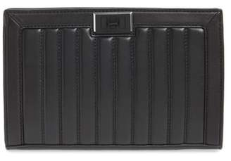 Rebecca Minkoff Dylan Quilted Leather Clutch
