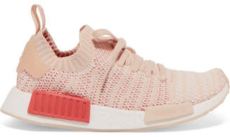 adidas Nmd_r1 Rubber-trimmed Primeknit Sneakers