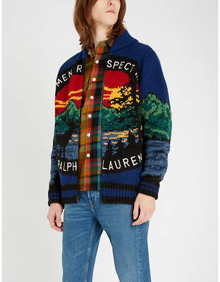 Polo Ralph Lauren Sportsmen Respect Wildlife knitted cardigan